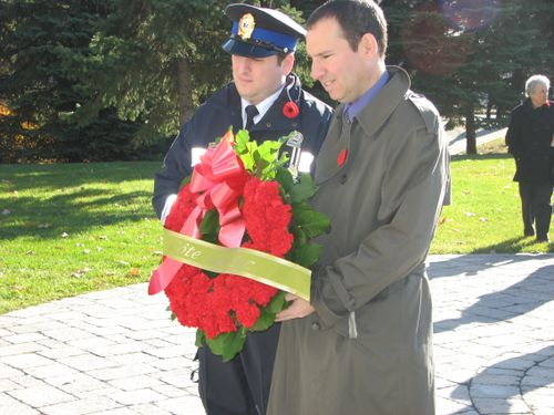 Remembrance Day 2009MikeJordy