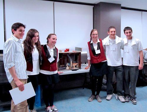 Bialik winning physics team