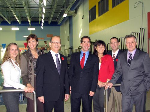 Minister Lessard vists the ACC 024