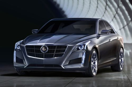 2014-Cadillac-CTS-sedan-front-left-side