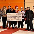 A Cheque for Ronald McDonald House