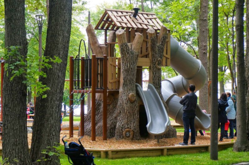 Tree slide