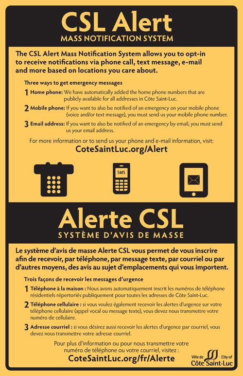 CSL Alert poster 11x17 2014-09