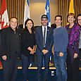 Israeli Consull General Ziv Nevo Kulman visits City Hall