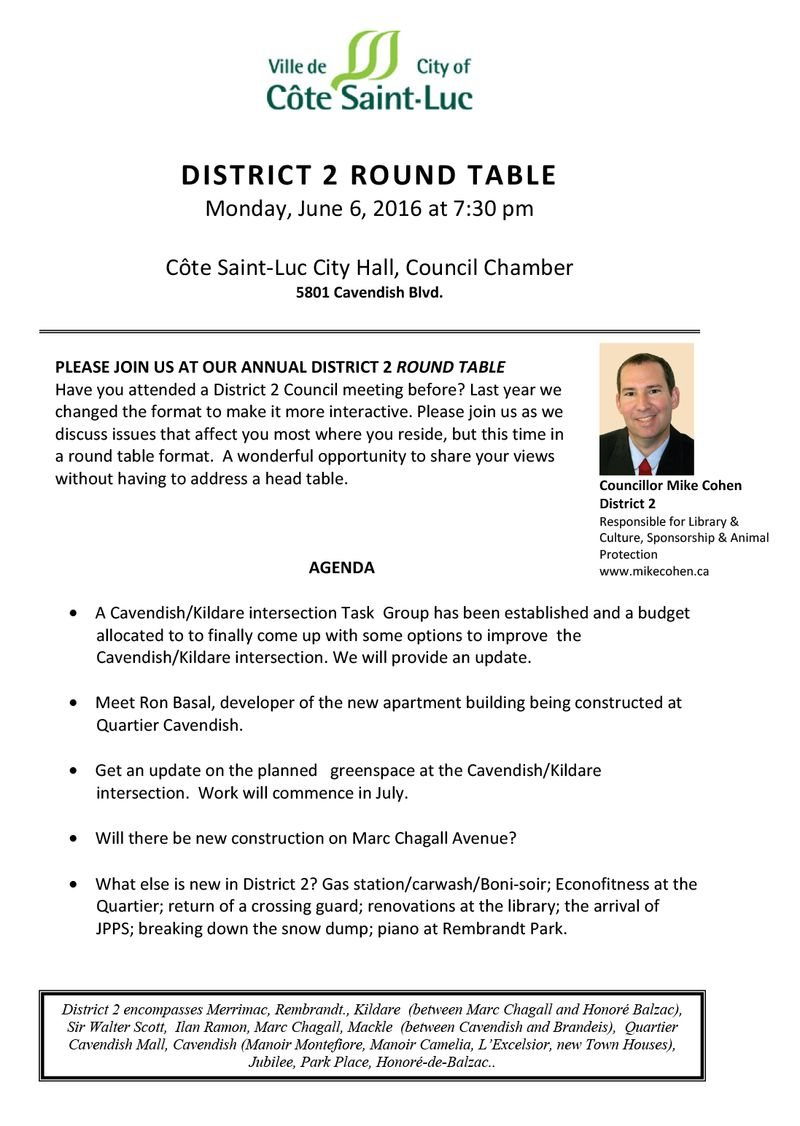 2016-06 District meeting Agenda Mike Cohen EN