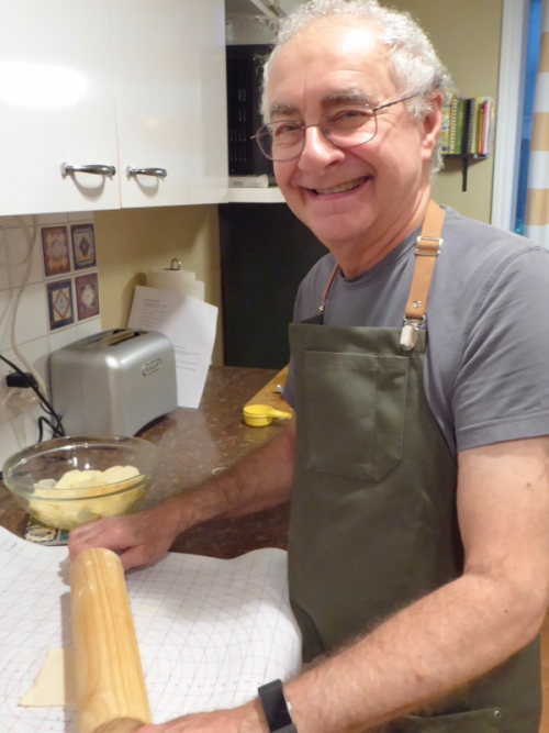 Harry baking
